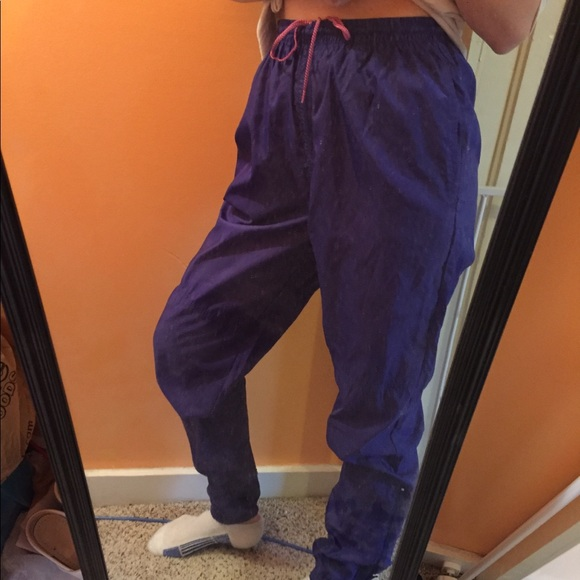 search for newest authentic attractive colour High Waisted Vintage Nike Wind Pants Joggers